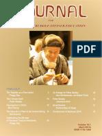 Journal for Waldorf-Rudolf Steiner Education Vol_16-1_Apr 2014