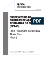 Cadernos Do Gea n8 Opaas