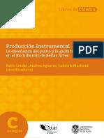 Loudet Aguerre Martínez. Producción Instrumental