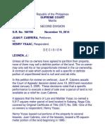 Cabrera v. Ysaac