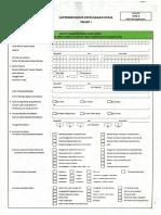 Formulir Laporan Kasus Kecelakaan Kerja Tahap I II BPJS Ketenagakerjaan
