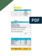 Financiamiento Excel