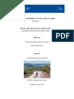 Ensayo Realidad Educativa Rural Ecuatoriana 1