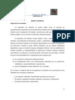 Marco Teórico. Ingeniería de Métodos. Diagramas OIT.