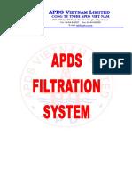 APDS Filtration Spec.