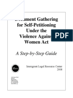 Document Gathering for Self-petitioning Under the Violence Against Women Act