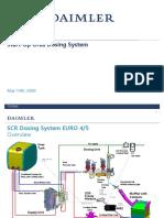 Inbetriebnahme Start Up Dosing System Adblue 6