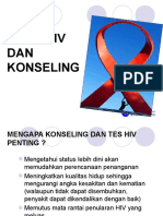 HIV and AIDS Tes Dan Konseling