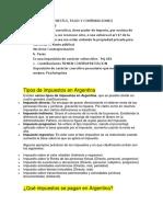 Regimen Tributario Argentino Apunte