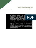 Manual e EspecificaçÕes Do Sistema Modular Alveolar Leve