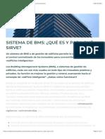 Sistema de BMS