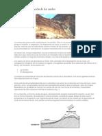 Proceso de transformacion de los suelos