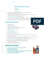 Related Projects Topics
