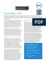 Poweredge r730 Spec Sheet