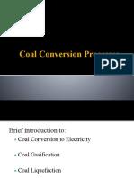 Coal Conversion Processes