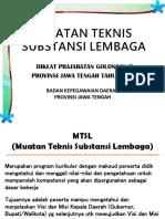 MTSL Gol I dan II