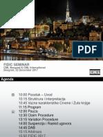 FIDIC, Presentation