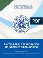 Pautas Elaboración de Informes Psicologicos Converted