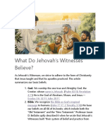 What Do Jehovah.docx