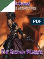 Rogue Genius - Options Rogue Archetypes - Shadow Warrior