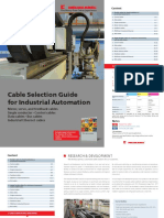 Industrial Automation Cable Selection Guide