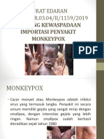 Surat Edaran Monkeypox