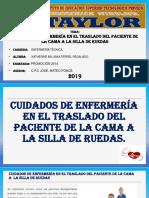 Cuidados de Enfermería en El Traslado Del Paciente de La Cama a La Silla de Ruedas Corregido