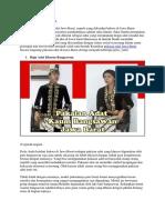 Baju Adat Jawa Barat