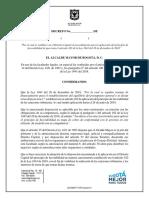Decreto Aplica Favorabilidad Ley 1943 v Publicable