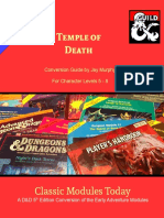 Classic Modules Today - X5 Temple of Death
