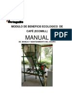 Manual Ecomill