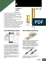 SafetyLightCurtain F3SG R Datasheet en 201801 F75IE05 Tcm851-116619