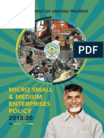 Micro Small Medium Enterprises Policy