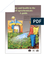 A Guide to the Use of Agrochemicals