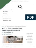 ¿Qué es el emprendimiento_ Definición y significado de emprendimiento.pdf