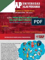 Principales Mercados Del Sistema Financiero