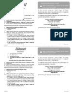 Lista de Verificación Para Clientes Fonacot