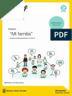 Ficha Proyecto Mi Familia