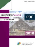Kecamatan Tabang Dalam Angka 2018.pdf