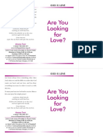 Are You Looking for Love
