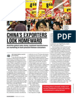 China's Exporters Look Homeward