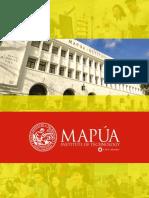 Mapua Brochure 2016