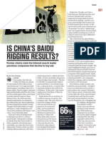 Is China's Baidu Rigging Results