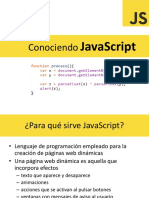 Conociendo JavaScript 2