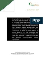 Manual e Especificações Do Sistema Ecopavimento Com Brita 1