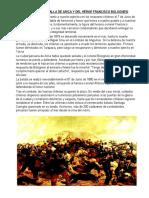 07 Día de La Batalla de Arica y Del Héroe Francisco Bolognesi