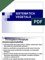 2019 - PDF Sistematica Vegetala Sem II Partea II.