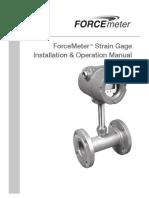 Niagara Force Meter Installation and Operation Manual