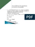 Formula de Capacitor