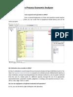 Aspen Process Ecoinomic Analyzer Queries